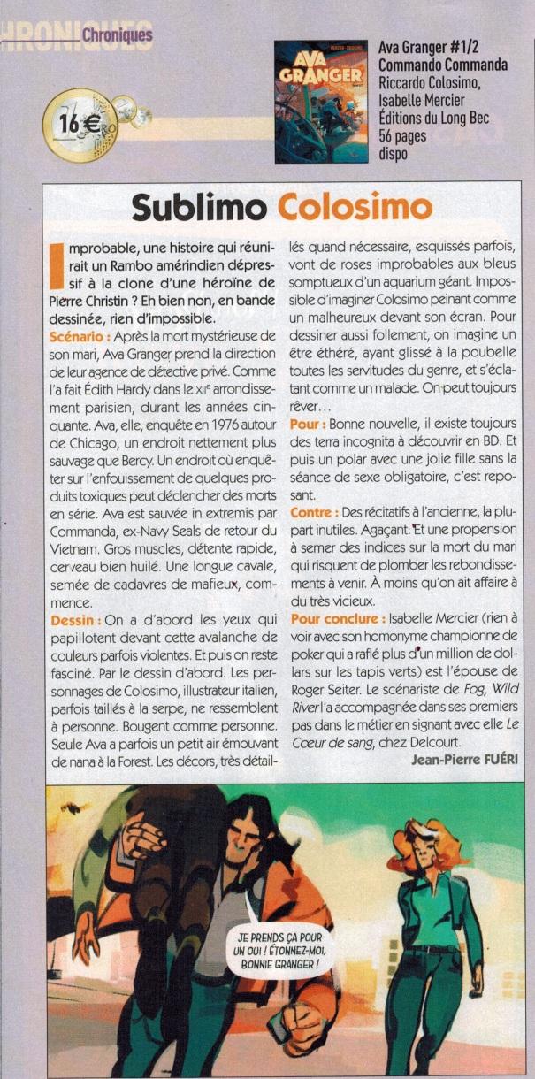 Ava Granger Magazine Casemate janvier 2019 (1)