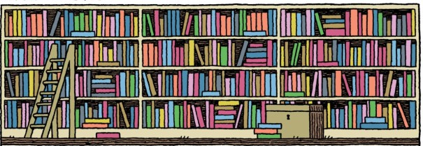 Tom Gauld bibliothèque (2)